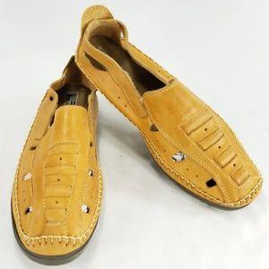 PE Forte Mens Leather Huarache Sandal Casual Shoes